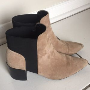 Shoes - Zara suede boots